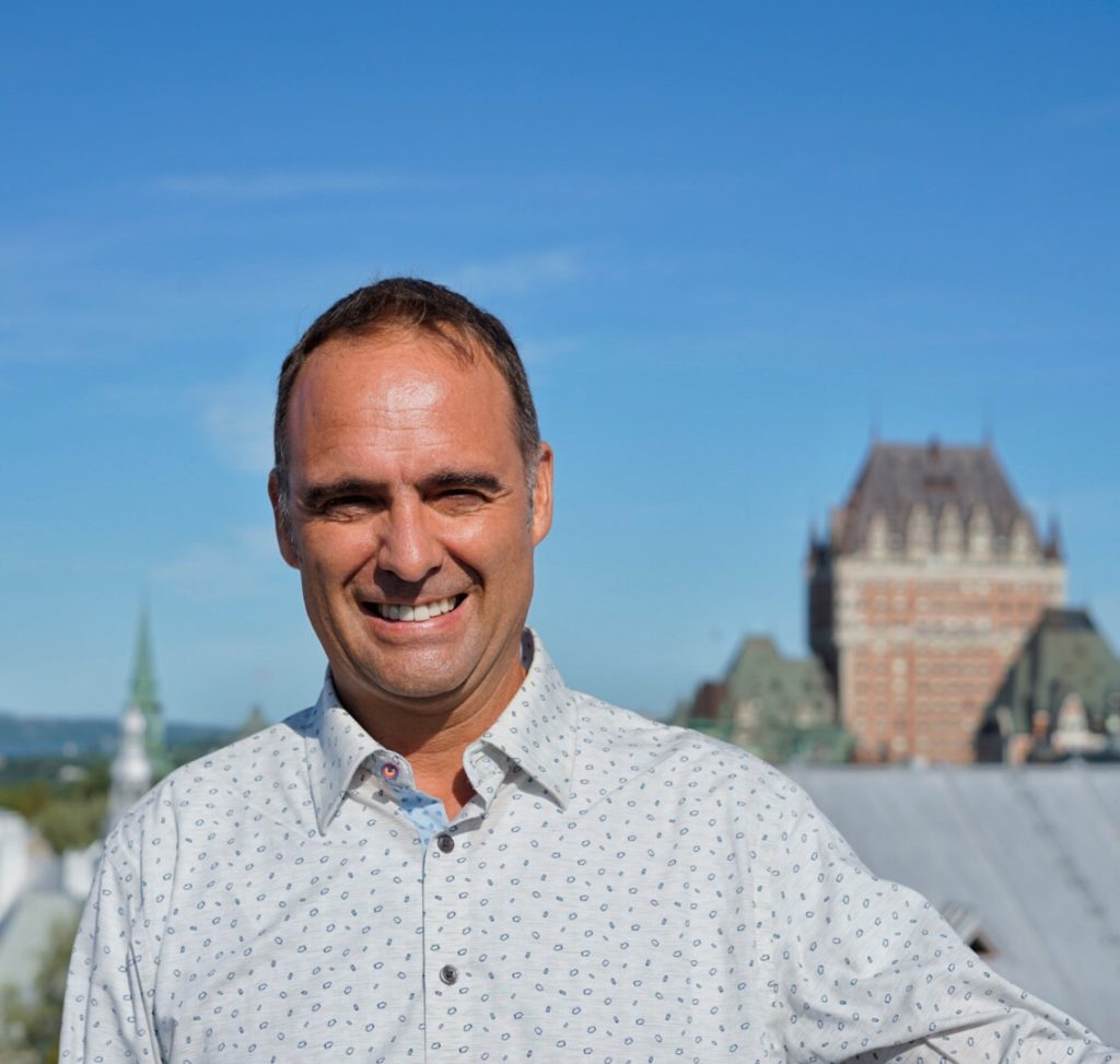 Steeve Gaudreault, private tour guide in Québec City, Canada