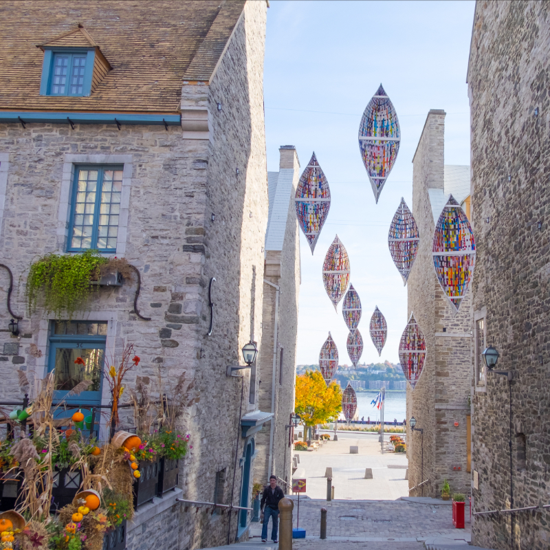 City Tour of Quebec City with Steeve Gaudreault
