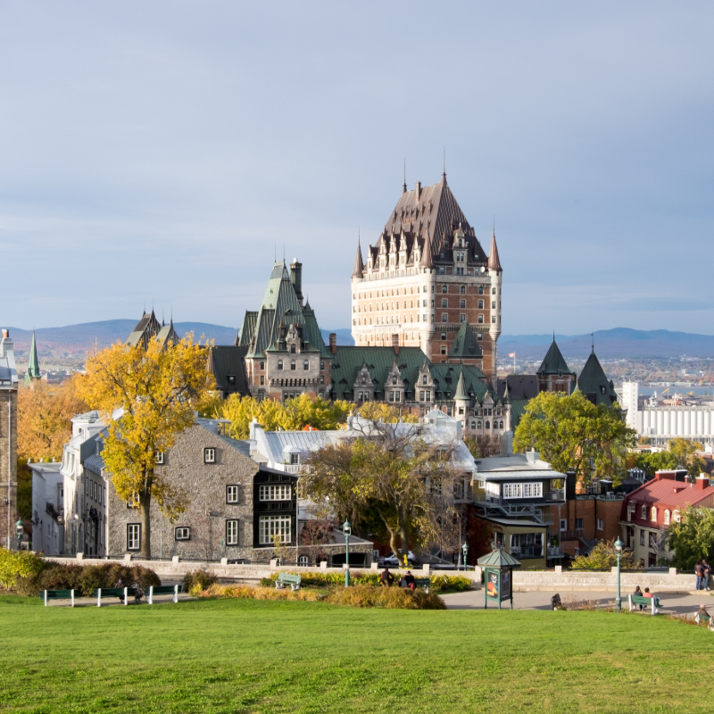 Go on an Old Quebec City Walking Tour with Steeve Gaudreault, a private tour guide!